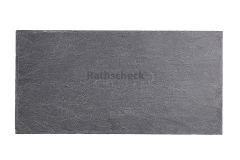 Rathscheck Schiefer Rechteck 30x15 cm InterSin ungelocht Grube 730