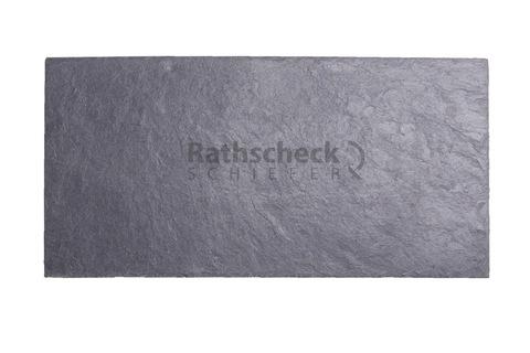 Rathscheck Schiefer Rechteck 50x25 cm InterSin ungelocht Schiefergrube 120
