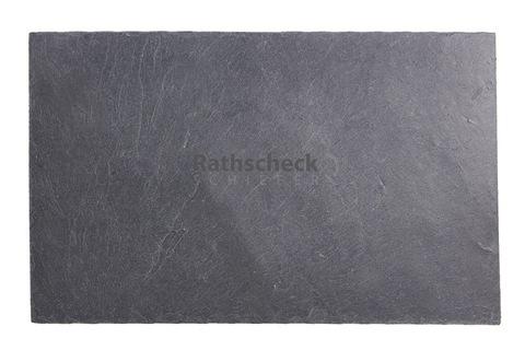 Rathscheck Schiefer Rechteck 40x25 cm InterSin ungelocht Schiefergrube 120