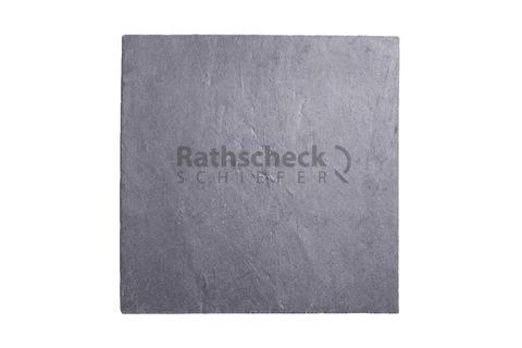 Rathscheck Schiefer Quadrate 40x40 cm InterSin ungelocht Schiefergrube 300