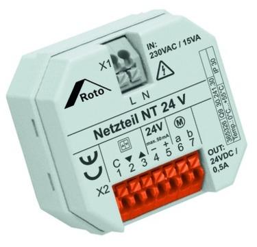 Roto Netzteil für Steuerung 24 Volt für 24 Volt Antrieb