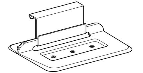 SM Systeme Wirrgelegehaft Festhaft 200 Stück im Paket für strukturierte Trennlinien 25mm Edelstahl