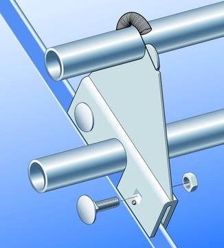 SM Systeme Klemmfaust inkl. Befestigung Befestigung für Solaranlagen Aluminium