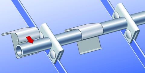 SM Systeme Eishalter 1-teilig 1,2mm 25/30mm Aluminium