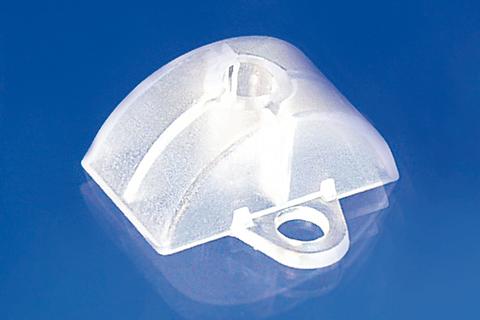 Scobalitwerk Abstandhalter 76/18 mm 20 Stück Sinus-Form 20 Stück Transparent