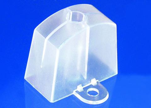 Scobalitwerk Abstandhalter 177/51 mm P5 Sinus-Form 50 Stück Transparent