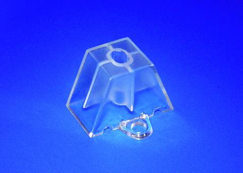 Scobalitwerk Abstandhalter 183/40 mm Trapez-Form 50 Stück Transparent