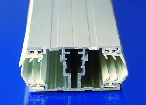 Scobalitwerk Schraubprofil mitte 3500 mm 60x35 mm für 16 mm Plattenstärke Alu