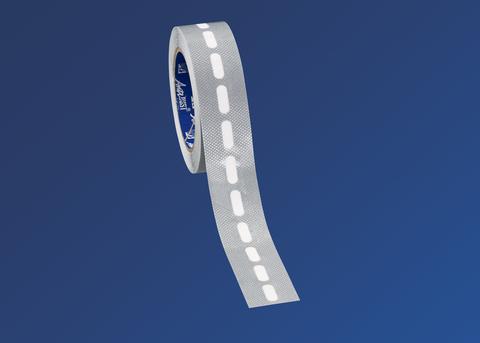 Scobalitwerk Kantenabschlussband 15 m selbsklebend 37 mm für 10er PC/A-Platte mit Membrane Silber