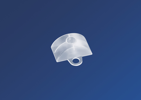 Scobalitwerk Abstandhalter 76/18 mm 100 Stück Sinus-Form 100 Stück Transparent