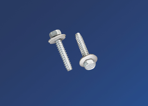 Scobalitwerk Metallschraube 6,3x32 mm mit Neoprendichtung Sechskant 3/8 Zoll Edelstahl V2A