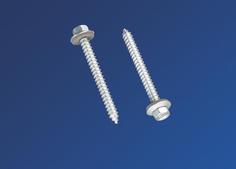 Scobalitwerk Schrauben DIN971 6,5x64 mm Sechskant 100St/Pk Verzinkt