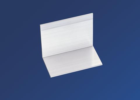 Scobalitwerk Abschluss und Haltewinkel 30x59 mm für Deckprofilsystem Alu
