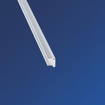 Scobalitwerk U-Profil Kantenschutz 980 mm pressblank, 16 mm mit Tropfnase