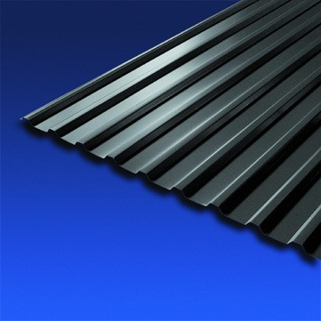 Scobalitwerk Profilplatte Trapez 115/18 mm 4000 mm anthrazit B 1080 mm Stahl