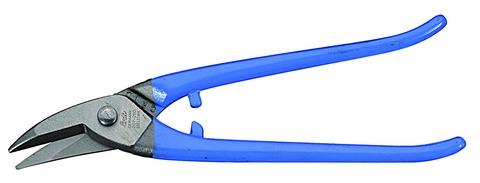 FREUND Lochschere 250 mm links Edelstahl 01223250 Blau