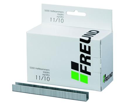 FREUND Heftklammern 11/10 mm 01741011 für RAPID11 5000 Stück Verzinkt