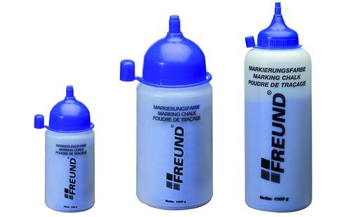 FREUND Markierungsfarbe 0,300 kg 03060300 für Schnurschlaggerät Flasche Rot