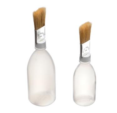 FREUND Pinselflasche 500 ml gekröpft 03402500 gekröpfter Pinsel