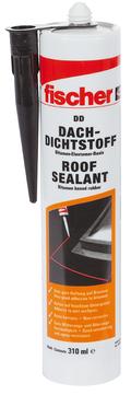 Fischer Deutschland Bausilicon Dach DD Inhalt 310 ml Schwarz