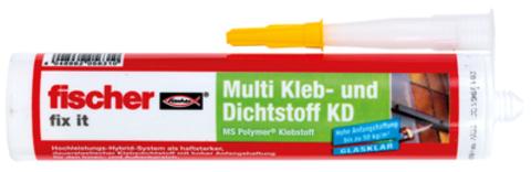 Fischer Deutschland Dichtkleber Fix it DK-290 Inhalt 290 ml Grau