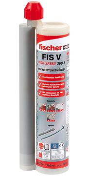 Fischer Deutschland Hochleistungsmörtel FIS VW 360S 360 ml Kartusche mit 2x Statikmischer FIS S