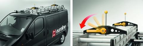 euroline Leiternsicherung Safeclamp für Dachgepäckträger