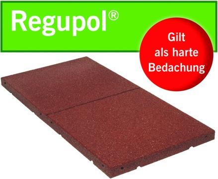 BSW Regupol 30x 1000x 500 mm Dach- und Gehwegplatten Grün