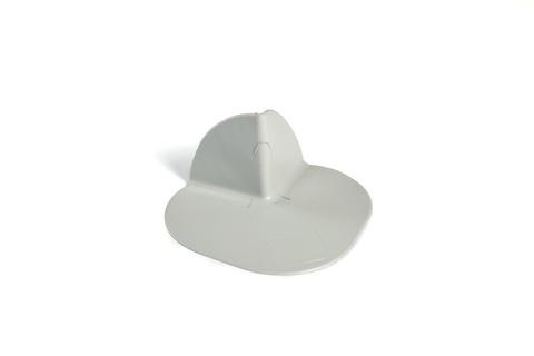 Bauder Thermofol PVC Außenecke 90 Grad Lichtgrau