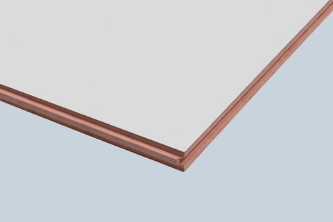 Braas Clima ComfortPur Platte 60 mm Einbaumaß 2385x1185 mm