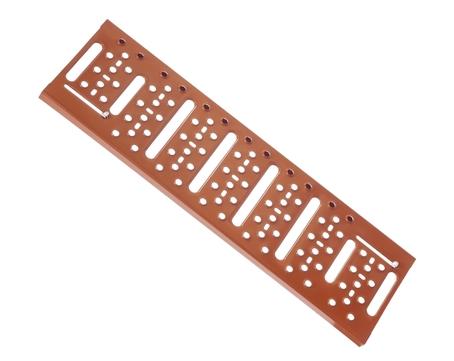 Braas Sicherheitsrost Pro 86 cm Stahl Rot