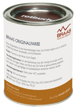 Braas Originalfarbe 250 ml Royalgrau