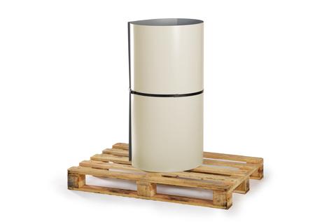 Bauder Verbundblech T FB14 30m FPO beschichtet 0,6mm+0,8mm Coil Silbergrau