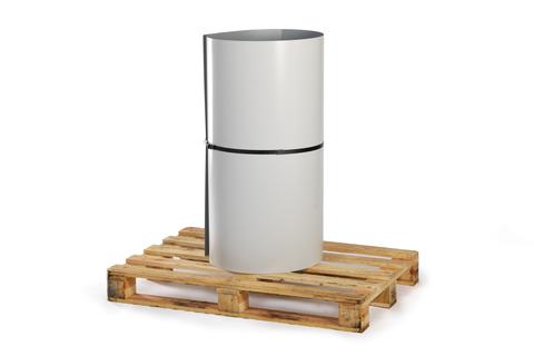 Bauder Verbundblech FB12 30 m PVC beschichtet 0,6 mm + 0,6 mm Coil Lichtgrau