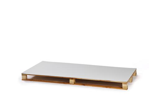 Bauder Verbundblech FB14 2 m PVC beschichtet 0,6 mm + 0,8 mm Lichtgrau