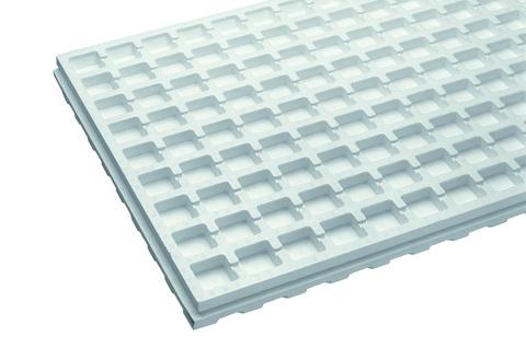 Bauder Wasserspeicherplatte 50 mm 1298x 795 mm