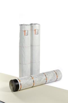 Bauder 15V 1,5 m vlieskaschiert 1,5x20 m 30 m2 je Rolle Silbergrau