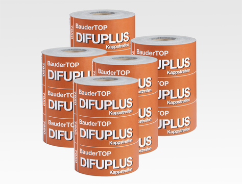 Bauder Kappstreifen selbstklebend 0,30,x40 m diffusionsoffen