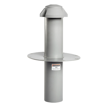 Bauder Grundkörper DN 125 335x335 mm für Dunstrohr T/F