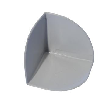 Bauder Thermofol PVC Innenecke 90 Grad Anthrazitgrau