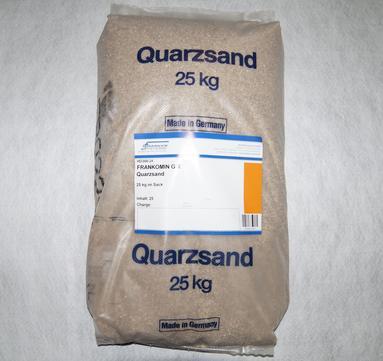 Franken-Systems Quarzsandmischung Gefällemörtel GM 25,0 kg