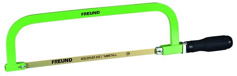 FREUND Metallsägebogen schwer 00782000 inklusive Blatt mit Drehspanner