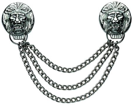 FREUND Löwenkopfkette 3-fach Stark