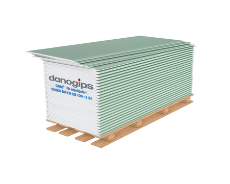 Danogips Gipsplatte H2 12,5x 600x2600 mm Baufix imprägniert HRAK A2 GKBi