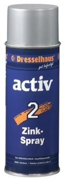 Dresselhaus Zinkspray Activ 2 400 ml Zinkgrau