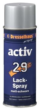 Dresselhaus Lackspray Activ 29 400 ml Mattschwarz