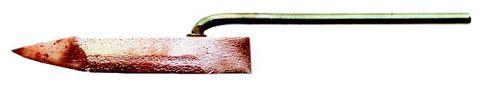 SIEVERT Kupferstück 350 g spitz Nr.770339 für Lötkolben 7703