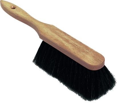 NÖLLE Stubenhandfeger 30 cm 2006.40 schwarzer Bart Holz