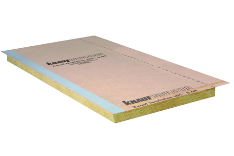Knauf Insulation Schrägdachdämmplatte SDP-UD GF 100 mm 2000x 600 mm WLS 035
