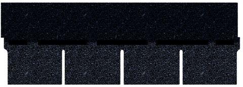 Onduline Bitumen Schindel Pro Rechteck Bardoline Pro 100x34 cm Schwarz